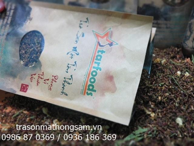 Trà sơn mật hồng sâm và tiềm năng của ngành dược liệu nước nhà 3