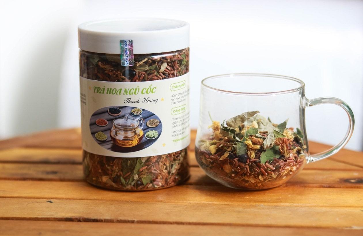 trà hoa ngũ cốc thanh hương 500g